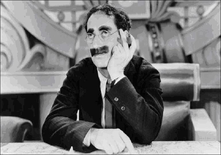 Cette citation est de Groucho Marx, à votre avis, c'est laquelle ?