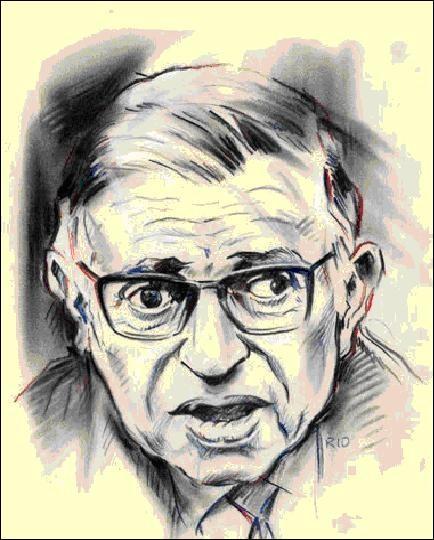 Maintenant, trouvez la citation de Jean-Paul Sartre…