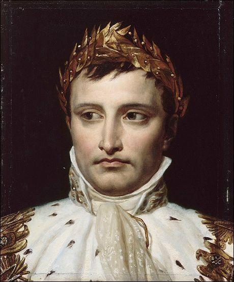 C'est une citation de Napoléon Bonaparte, à vous de la trouver !