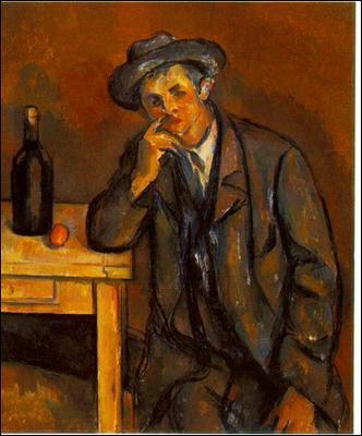 Qui a peint  Le buveur  en 1891 ?