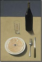 Quel peintre surréaliste belge a peint  Le portrait  en 1935 ?