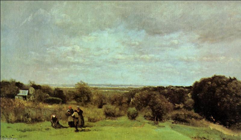 Qui a peint  Des vendanges à Sèvres  ?