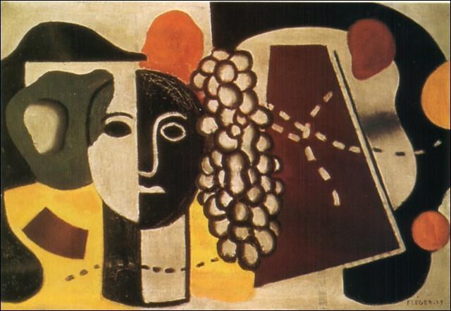 Quel peintre,  pionnier  du cubisme, a réalisé  La grappe de raisin  ?
