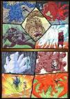 Quels sont les vrais noms des neuf démons à queues ?