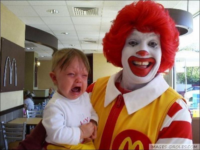 Quel est le nom de la mascotte de Mc Donald's ?