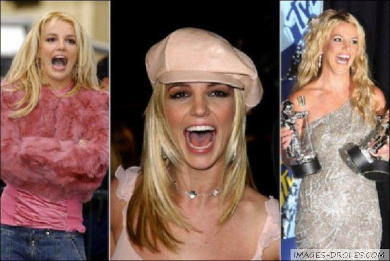Parmi ces chansons, laquelle ne vient pas de Britney Spears ?
