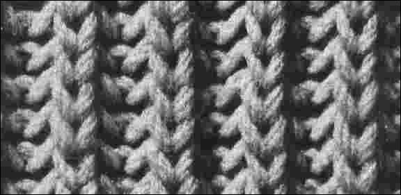 comment tricoter cote 1 1