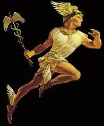 Qui est le dieu (déesse) du vent, du commerce et messager des dieux ?
