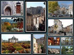 Voici différentes vues de la ville d'Annonay (Ardèche). Cette ville se situe en région ...