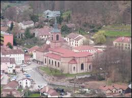 Je vous emmène à Bruyères (région Lorraine). C'est une ville située dans le département ...