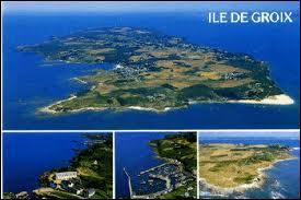 Nous partons pour l'Ile de Groix (Bretagne). Cette île se situe dans le département ...
