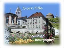 La ville d'Is-sur-Tille (région Bourgogne) se situe dans le département ...