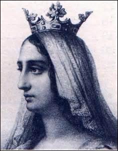 Je me nomme Blanche de Castille. Je suis née à Palencia (Espagne) le 04 mars 1188 (d'Alphonse VII de Castille et d'Aliénor d'Angleterre). Je décède à Melun le 27 novembre 1252, j'épouse en 1200 le roi :