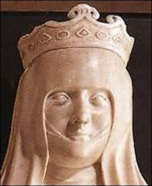 Je me nomme Jeanne d'Auvergne. Je suis née le 08 mai 1326 (de Guillaume XII, comte d'Auvergne et de Boulogne et de Marguerite d'Évreux) et décède de la peste au château de Vadans (Franche-Comté) le 29 septembre 1360. J'épouse en deuxième noces le 09 février 1350 le roi :