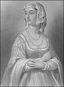 Je me nomme Marie d'Anjou. Je suis née le 14 octobre 1404 à Angers (de Louis II d'Anjou, duc d'Anjou et roi titulaire de Naples et de Yolande d'Aragon) et décède le 29 novembre 1463 à l'abbaye cistercienne Notre-Dame des Châtelliers (diocèse de Poitiers). J'épouse le 22 avril 1422 le roi :