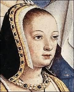Je me nomme Anne de Bretagne. Je suis née le 25 janvier 1477 à Nantes (de François II de Bretagne et de Marguerite de Foix) et décède le 09 janvier 1514 à Blois. Je me marie en deuxième noces, en 1491, avec le roi :