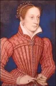 Je me nomme Marie Stuart. Je suis née à Linlithgow (Royaume-Uni) le 08 décembre 1542 (de Jacques V d'Écosse et de Marie de Guise) et fus exécutée sur ordre d'Élisabeth I d'Angleterre au château de Fotheringhay (Royaume-Uni) le 08 février 1581. J'épouse le 24 avril 1558 le roi :