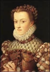 Je me nomme Élisabeth d'Autriche. Je suis née le 05 juillet 1554 à Vienne (de l'Empereur Maximilien II et de Marie d'Espagne) et décède le 22 janvier 1592 au même endroit. J'épouse le 26 novembre 1570 à Charleville-Mézières (Ardennes) le roi :