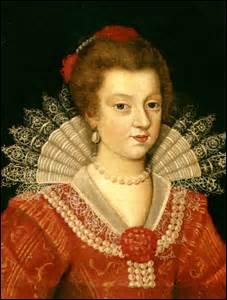 Je me nomme Anne d'Autriche. Je suis née le 22 septembre 1601 à Valladolid (du roi d'Espagne Philippe III et de l'archiduchesse Marguerite d'Autriche) et décède le 20 janvier 1666 à Paris. J'épouse à Bordeaux le 21 novembre 1616 le roi :