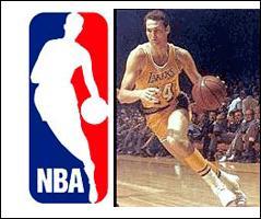 Quel est le joueur sur le logo de la NBA ?