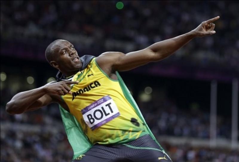 Quel est le record du monde de Usain Bolt sur 100 mètres ?