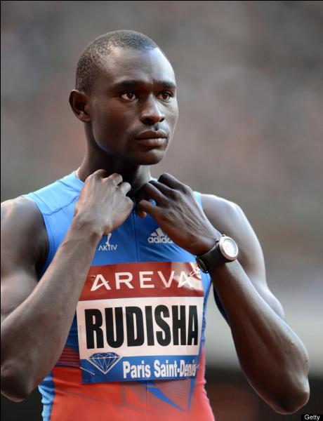 En quelle année David Rudisha a-t-il établi le record du monde sur 800 mètres ?