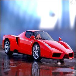 Combien de chevaux y a-t-il dans le moteur de cette Ferrari Enzo ?
