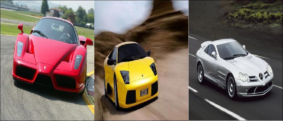 Laquelle de ces supercars est la plus rapide en pointe ?