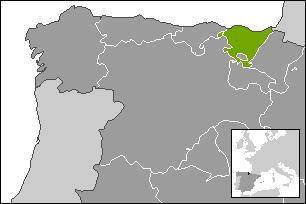 Quelle est la capitale de la communauté autonome du Pays basque, localisée au Nord de l'Espagne ?