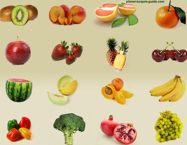Quizz les fruits et les l gumes quiz fruits fruit legumes - Fruits et legumes aout ...