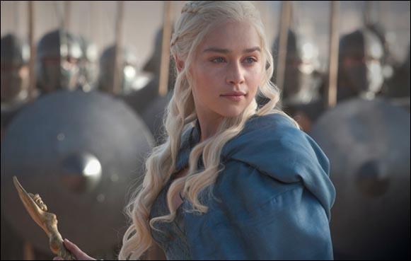 Dans la saga, elle est Daenerys Targaryen !