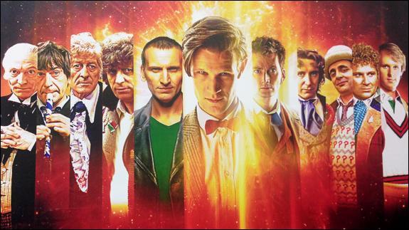 Sachez que cette série télévisée de science-fiction est britannique !