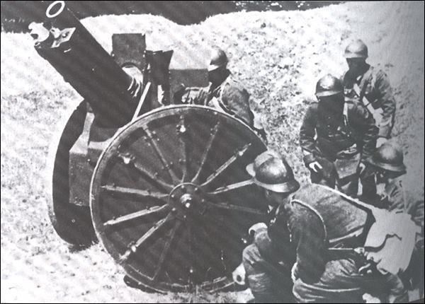 De quelle nationalité est ce canon de 105 mm?