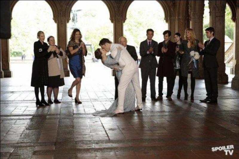 Avec qui Blair se marie-t-elle ?