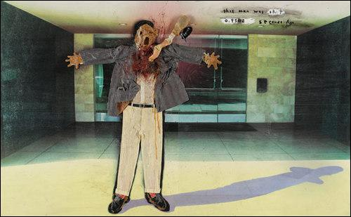 Qu'arrive-t'il à l'homme représenté sur ce tableau?