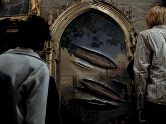 Dans le livre, un autre tableau remplace la Grosse Dame lorsqu'elle a été attaquée par Sirius Black. Lequel a accepté la fonction ?