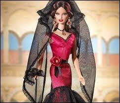 De quel pays est cette Barbie ?