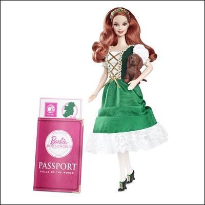 D'où vient cette Barbie ?