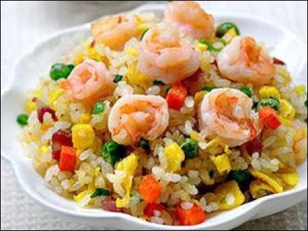 Comment se nomme cette recette de plat complet à base de riz, originaire d'une grande ville chinoise ?