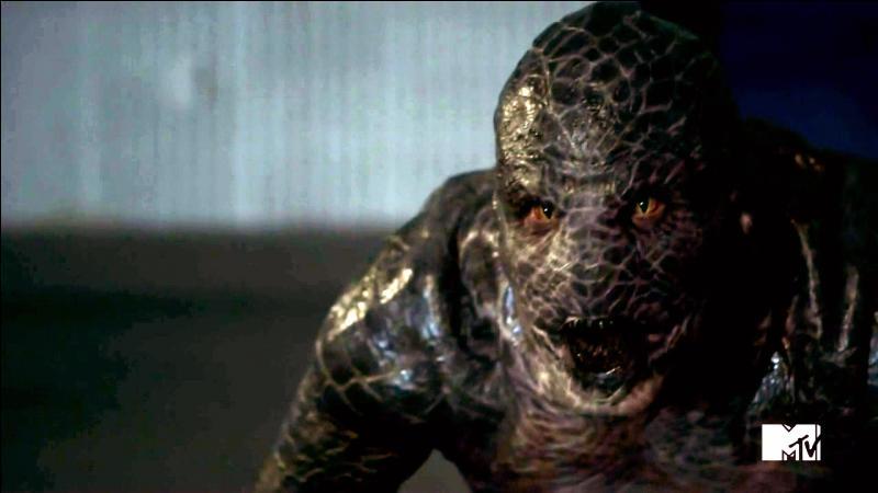 Dans la saison 2 de  Teen Wolf , il y a une nouvelle créature, le kanima. Mais quel personnage est ce monstre ?