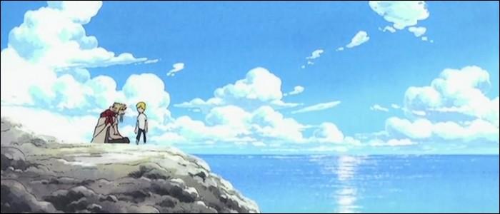 Épisode 26 - L'histoire de Zeff et de Sanji est un peu comparable à celle de l'un des autres Mugiwaras... De quelle histoire s'agit-il ?