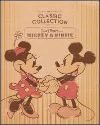 Quel métier exerçait Minnie lors de sa première rencontre avec Mickey ?