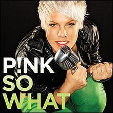 Si on prend la chanson de Pink  So What  quelle chanson de Shy'm peut-on avoir ?