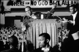 Quelle organisation radicale prônant un nationalisme noir islamique a-t-il rejoint ?