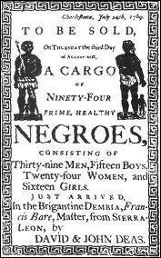 Quelle est la principale origine des citoyens noirs américains ?