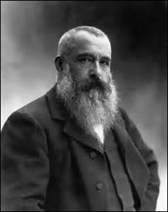 Je nais le 14 novembre 1840 à Paris et décède le 05 novembre 1926 à Giverny (Eure). Artiste-peintre, je suis l'un des fondateurs du mouvement  impressionniste . Peintre de paysages et de portraits, on me doit des œuvres comme  Meule à Chailly  (1891) ou  Les Nymphéas  (1903). Qui suis-je ?