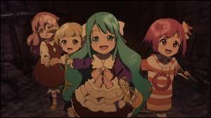 Comment s'appellent les quatre petites filles qui sont parties au concert ?