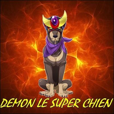 Comment s'appelle ce beauceron appartenant à Castiel ?