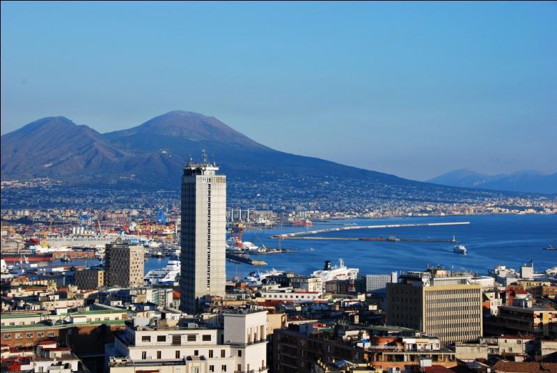 Quelle est cette ville, localisée au pied d'un important volcan toujours en activité ?