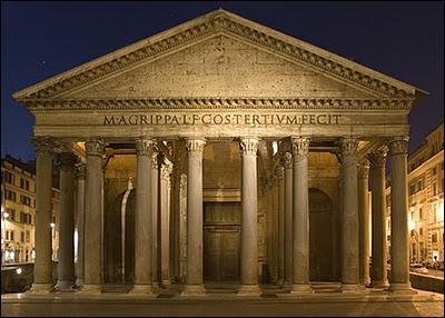 Lequel de ces monuments ne se trouve t-il pas à Rome ?